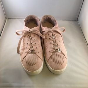 Michael Kors Rose Gold/Pink Mesh Sneakers - Size 9